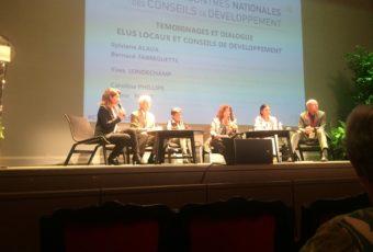 Rencontres nationales des Conseils de Développement à Sète en présence de la ministre J. Gourault