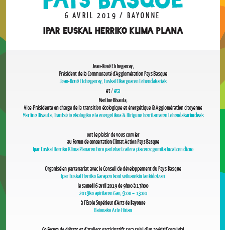 Le 6 avril, participez  au Forum Climat Action  Pays Basque !