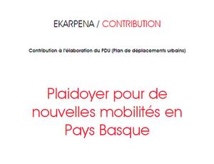 Le CDPB propose une stratégie pour la mobilité en Pays Basque
