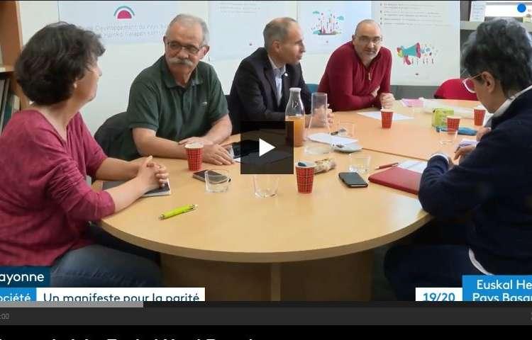 Le Manifeste du CDPB sur France 3 EH