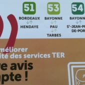 Concertation sur les lignes TER du Pays Basque