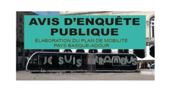 Plan de Mobilités : participez à l'enquête publique